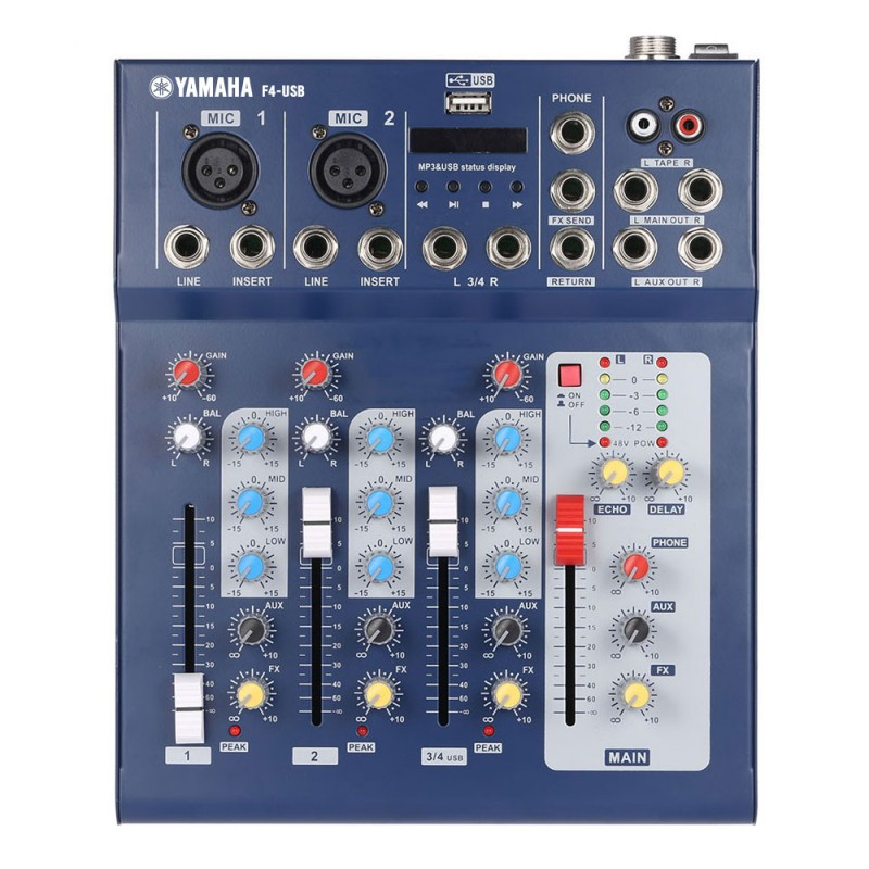 Yamaha Mixer With Phantom Power And Usb