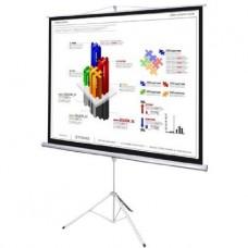 "Projector Screen Tripod 4:3 Aspect Ratio 70"""