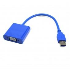 USB 3.0/2.0 Male to VGA Female Converter