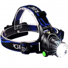 GRDE Zoomable 3 Modes LED Headlamp