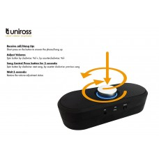 Uniross Duble Box Bluetooth Speaker