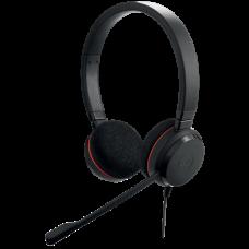 Jabra Evolve 20 MS Stereo Headphone For Skype & Call Centre