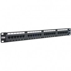 Patch Panel Cat6 Unshielded  TRENDnet 24-port