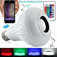 Multicolor LED Bluetooth Music Bulb