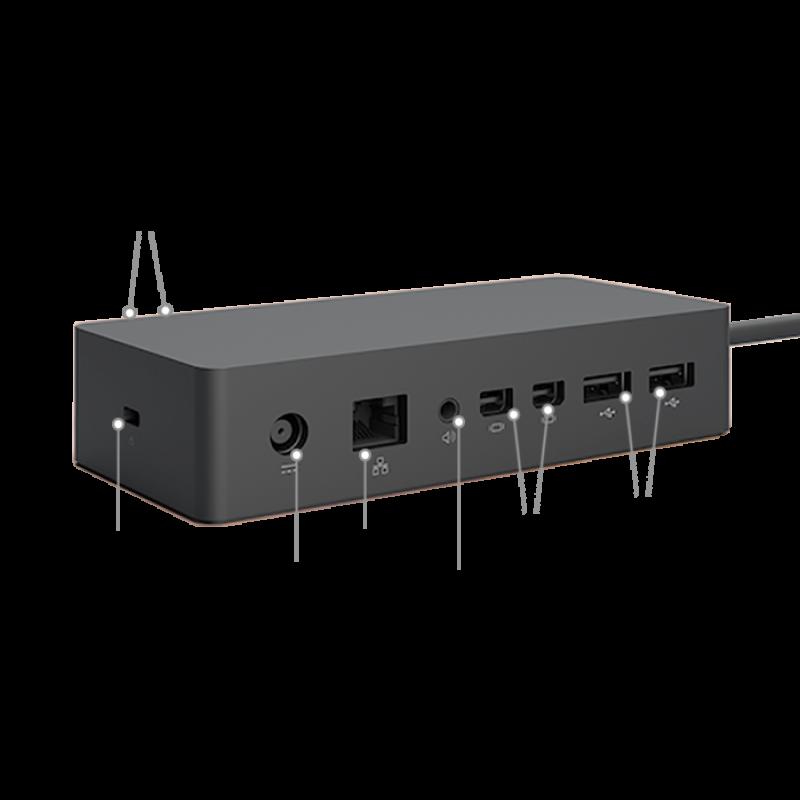 surface pro 4 dock. Black Bedroom Furniture Sets. Home Design Ideas