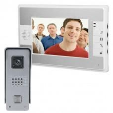 Video Door Phone 7 inch With Lock Control