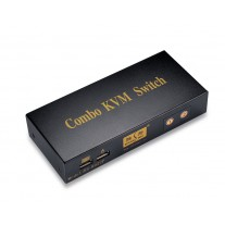 KVM Switch 2 Ports Shengwei KS-802UP with cable