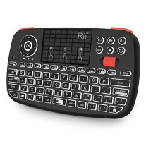 Rii Dual Mode Mini Bluetooth / Wireless Keyboard Touchpad i4