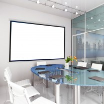 """120"""" 4:3 Electric Motorized Projector Screen"""