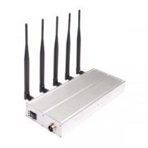 2G 3G Mobile Signal Jammer 5 Antennas