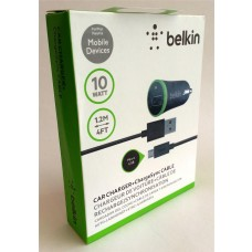 Car Charger Belkin Apple Certified iPhone