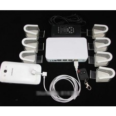Mobile Alarm Security Stand (8 Port)