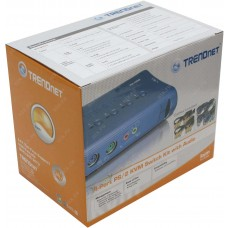 Trendnet 4-Port KVM Switch With Audio (PS2)