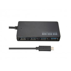 Type C USB 3.1 to 4 Port USB 3.0 Hub Converter