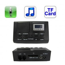 Telephone Voice Recorder Device with SD Card