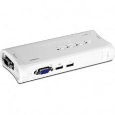 KVM Switch Trendnet 4-Port USB Kit TK-407