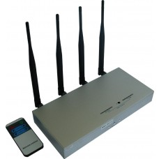 Mobile Signal Jammer with Remote Control - 50M Range