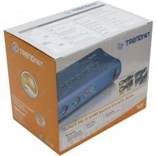 Trendnet 4-Port KVM Switch With Audio (PS2)